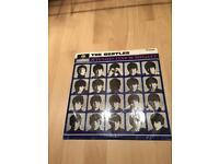 The Beatles - a hard days night - vinyl.