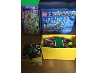 2 full boxes of Lego Lego city used Lego friends