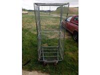 Wheeled cage