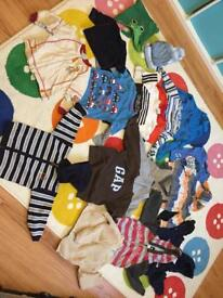 1-2 years bundle of clothes