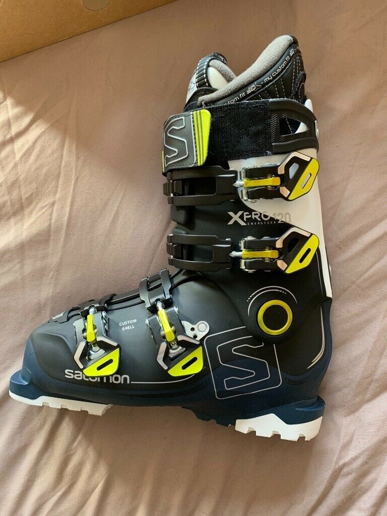 New Salomon Xpro 120 ski boots size 26.5 never used still in the box | in Devizes, Wiltshire | Gumtree