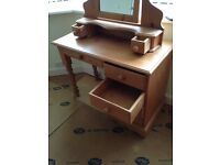 Gorgeous Solid Pine Dressing Table