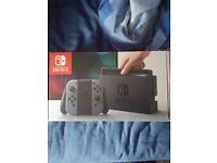 Nintendo Switch console Grey Joy Con - used.