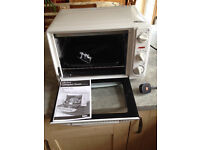 Compact table-top 23 litre electric portable standalone oven