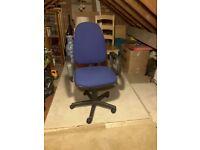 Desk Swivel Chair Blue