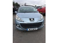 PEUGEOT 207 1.4 HDI DIESEL 2011 5 DOOR LEATHER SEATS NEEDS A INJECTOR CHANGING CHEAP CAR
