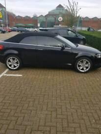 Audi A3 cabriolet black 2.0L