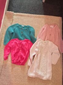 Toddler girl cardigan age 1 to 2 years