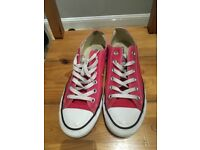 Genuine pink size 6 ladies all star converse