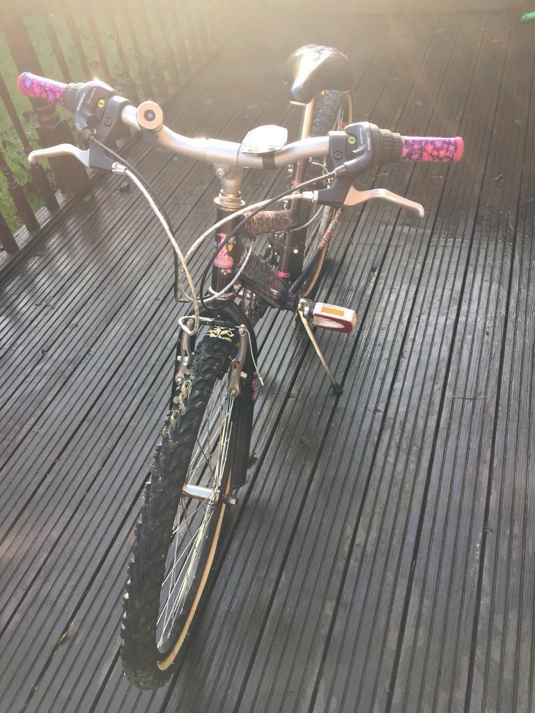 Girls Raleigh Krush Bike
