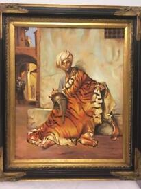 Merchant of Cairo Painting on Canvas