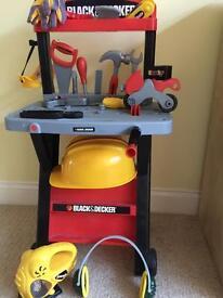 Black & Decker toy workbench