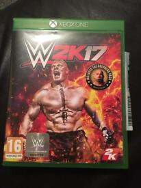 Xbox one game w2k17