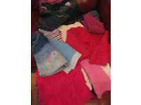 BUNDLE OF GIRLS CLOTHES age 3-4 - FABULOUS! Works out that each item is about 40p!