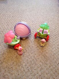 HAPPYLAND WOBBLE ALONG HEDGEHOG & CAR