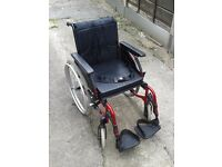 Invacare Action Wheelchair.