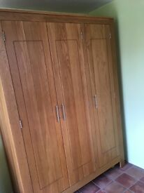 Milano Oak Bedroom Furniture
