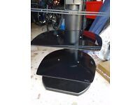 Origin II S3 Black Cantilever TV Stand