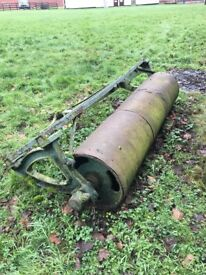 Antique garden/field roller