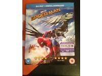 Spider-Man homecoming blu ray
