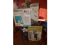 Tommee tippee perfect prep & steraliser and angelcare sound and movement monitor