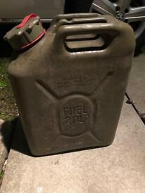 20L Fuel plastic jerry cans