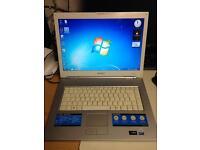 White Sony Laptop Windows 7
