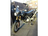 BMW F650 Black Enduro Motorcycle, Incredible commuter 0-60 in 6 Seconds, 60mpg+