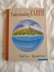 Understanding Earth Book by Frank Press and Raymond Siever Science Geology Rocks Ocean Volcanism
