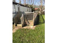 Caravan decking for sale year and half old