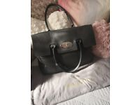 Genuine Grey Mulberry Bayswater Handbag