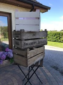 Traditional Co. Armagh Apple crates *boxes