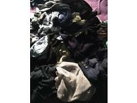 Ladies & men's clothing in very good condition