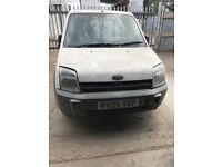 Ford transit connect white / cream breaking for parts / spares