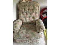 Manual Recliner Chair - FREE- Should go ASAP