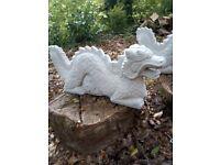 Large Dragon Homemade Concrete Garden Statues