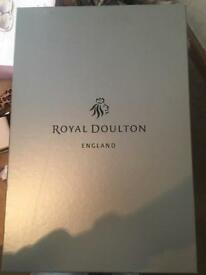Royal Doulton crystal wine glasses