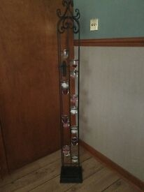 5ft Wrought Iron Candle Holder