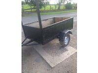 6x3 car trailer for sale