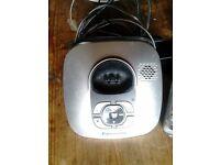 Panasonic Cordless Telephone and FREE Homebase Icarus 2000