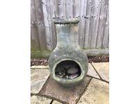Chimenea outdoor garden heater fireplace - Chiminea