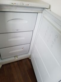 SOLD. Small freezer. Works as intended. Needs a good clean. Free delivery in Southampton