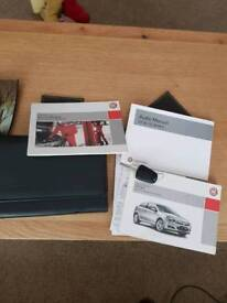 Vauxhall Astra mk 5 owners manual and service book and key