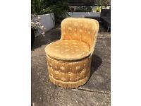 Cute round Child's seat