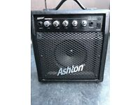 Ashton Electric Guitar + Amp and Leads