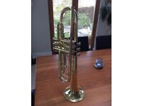 Student Brass Trumpet in excellent condition
