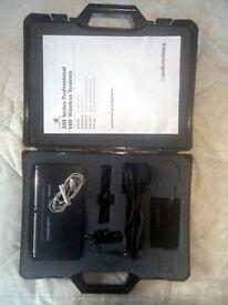 AUDIO TECHNICA 200 SERIES VHF RADIO MICROPHONE SYSTEM + EXTRA MIPRO MIC