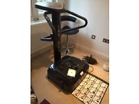 Pro Step Plus Vibration Plate - get fit quickly and easily!