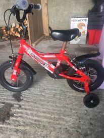 Boys bumper blazer 12 inch bike £25