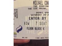 Conlan Homecoming SSE Arena Floor Seats